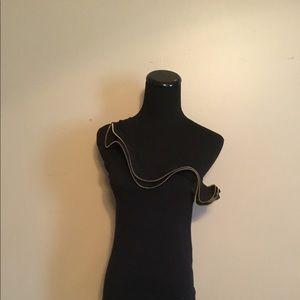 Denim & Co Zipper Top